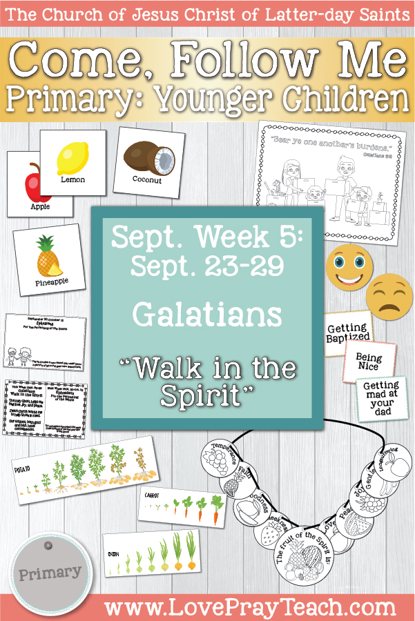 """Come, Follow Me for Primary: September Week 3: September 16–22  2 Corinthians 8–13 """"God Loveth a Cheerful Giver"""" YOUNGER CHILDREN www.LovePrayTeach.com"""