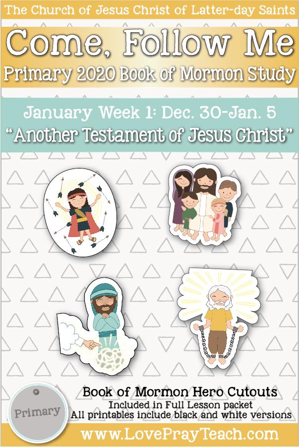 Come, Follow Me for Primary December Week 5 December 23-29 Revelation 12-22