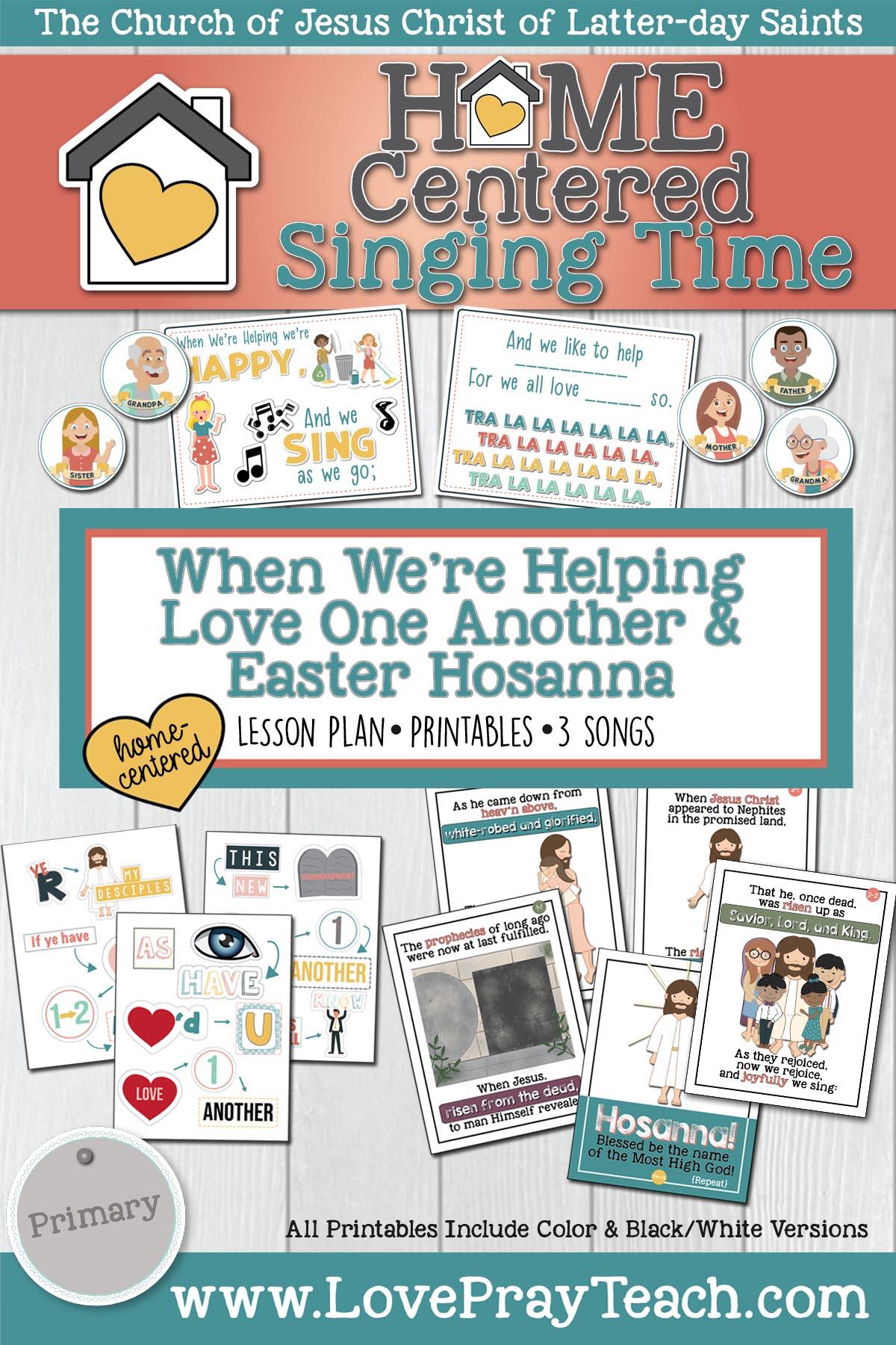 Home Singing: Easter Hosanna