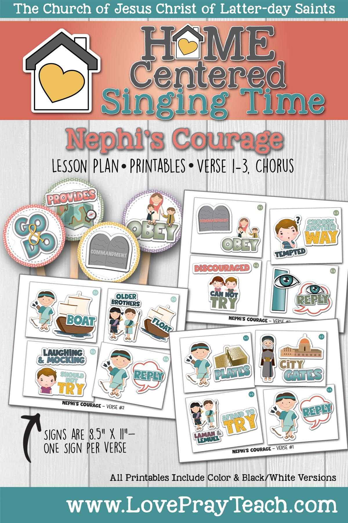 Home Singing: Nephis Courage