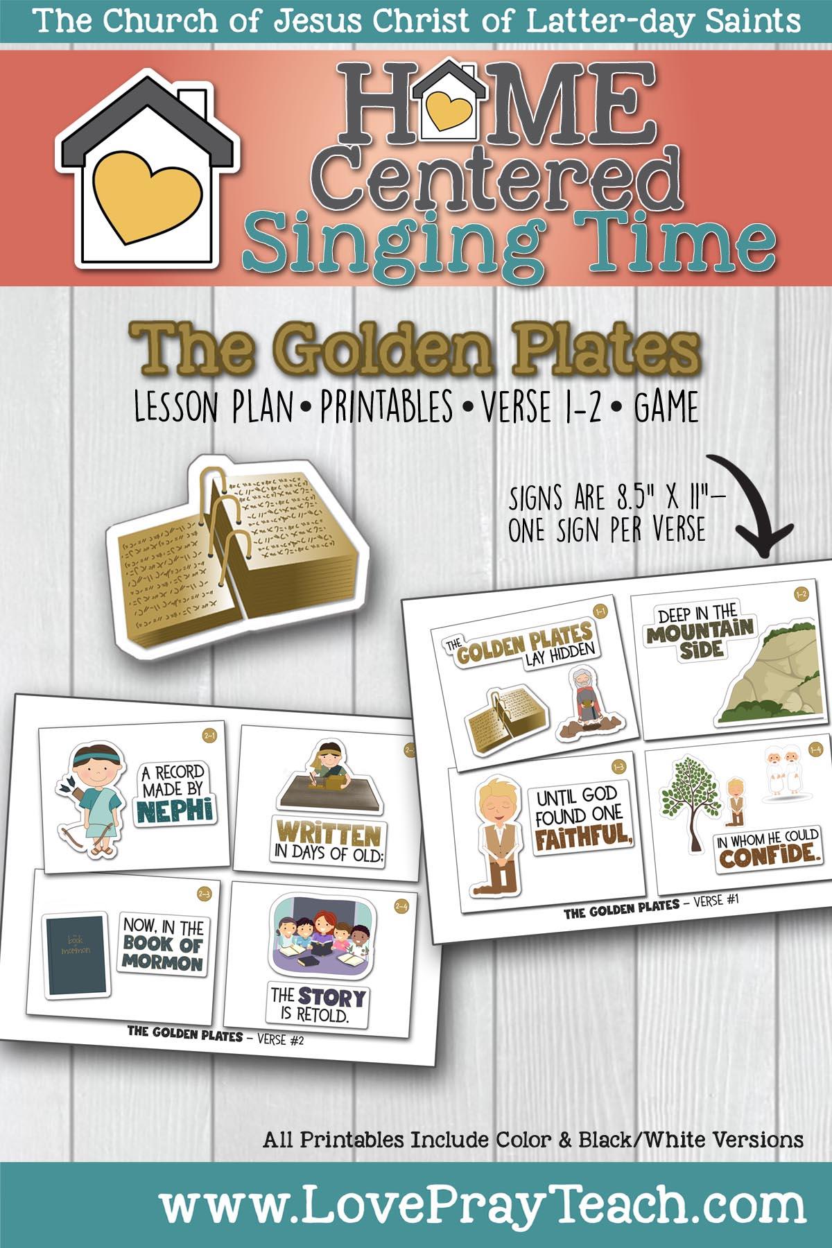 Home Singing: Golden Plates