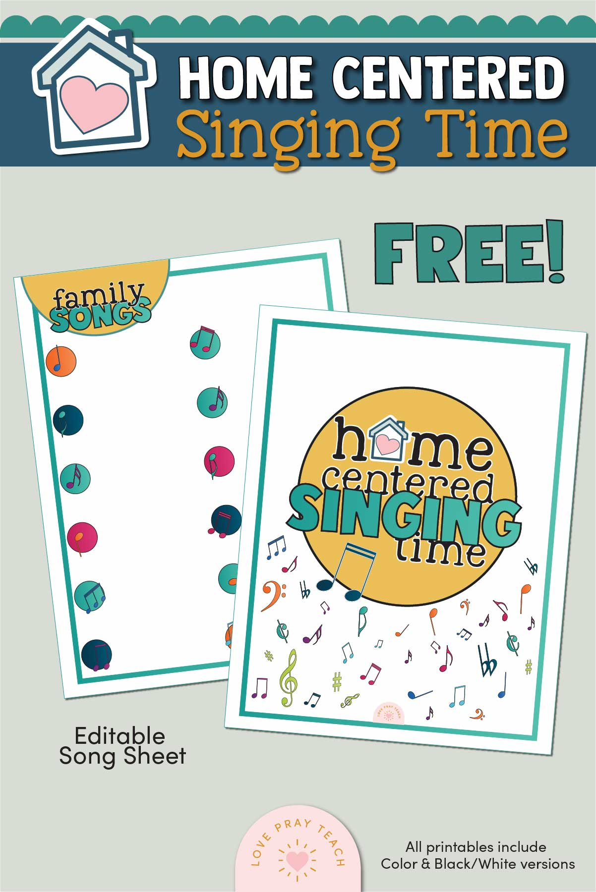 Singing Time Binder