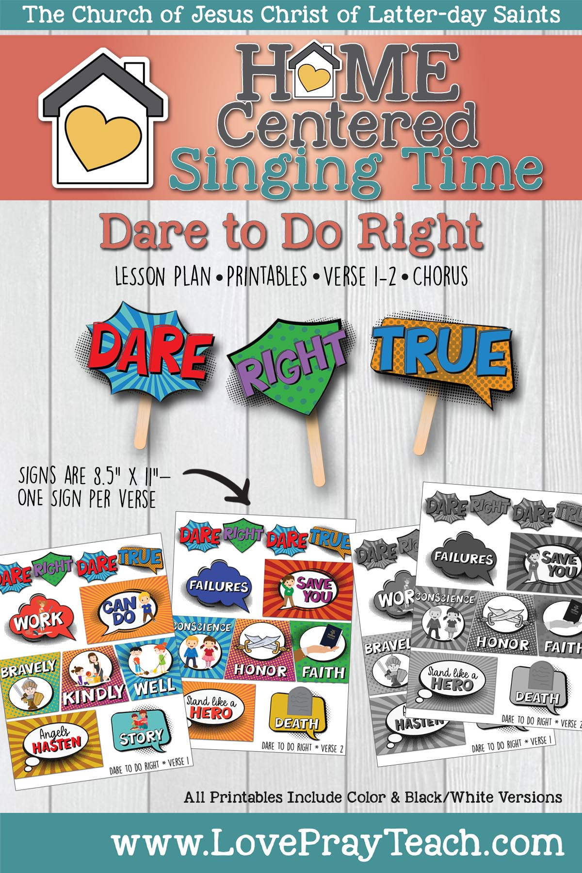 Home Singing: Dare to Do Right