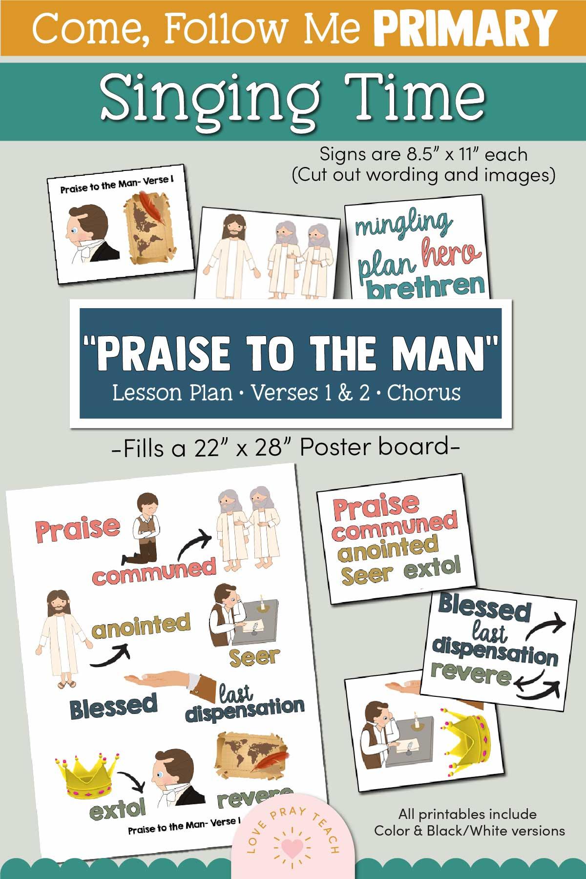 Primary Singtime: Praise to the Man