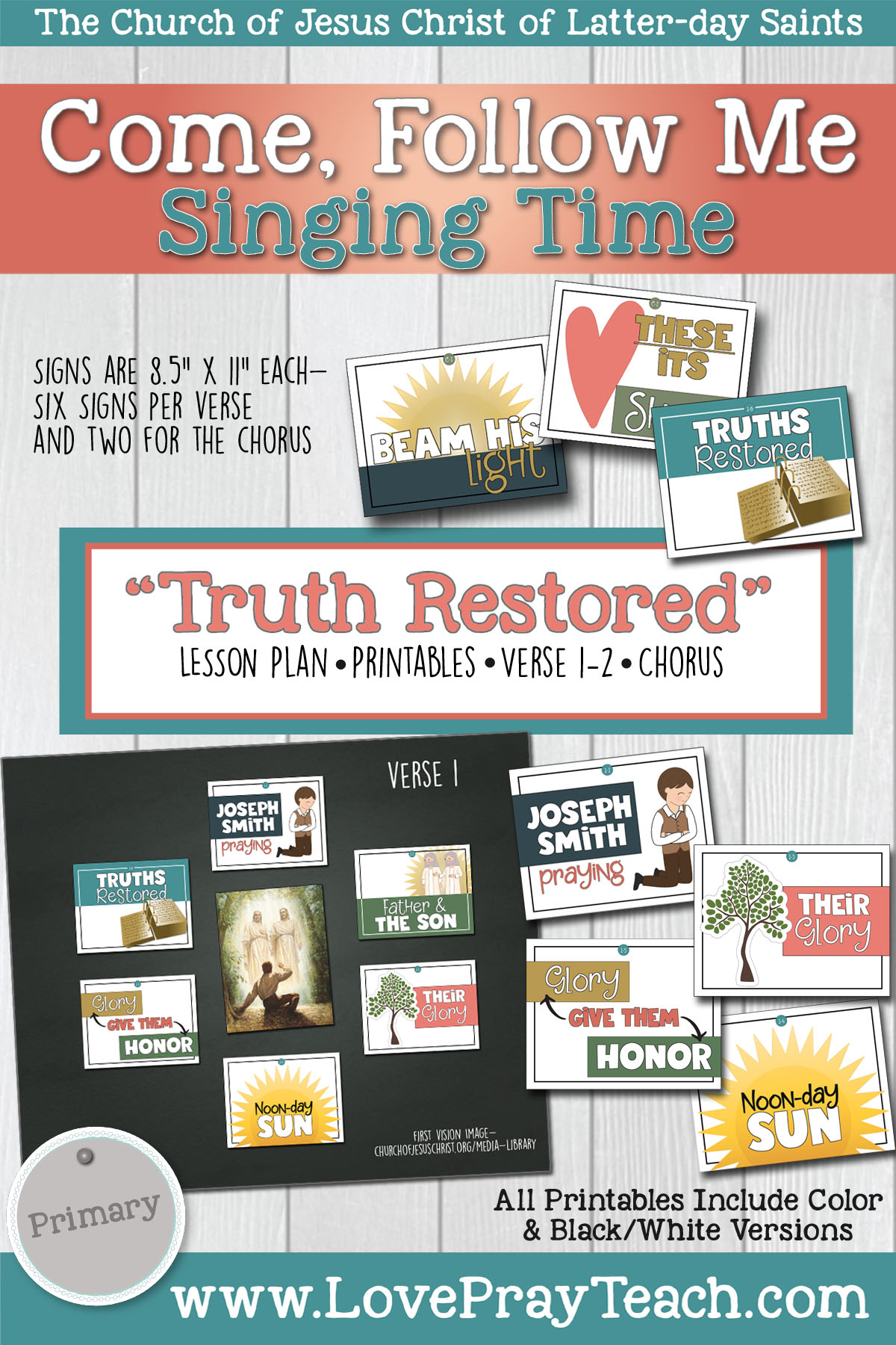 Primary Singing Time: Truth Restored