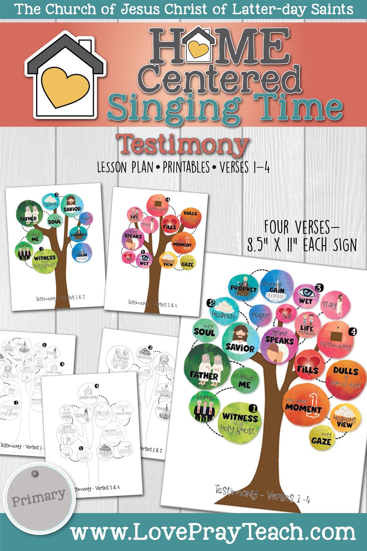 Home Singing Time- Testimony