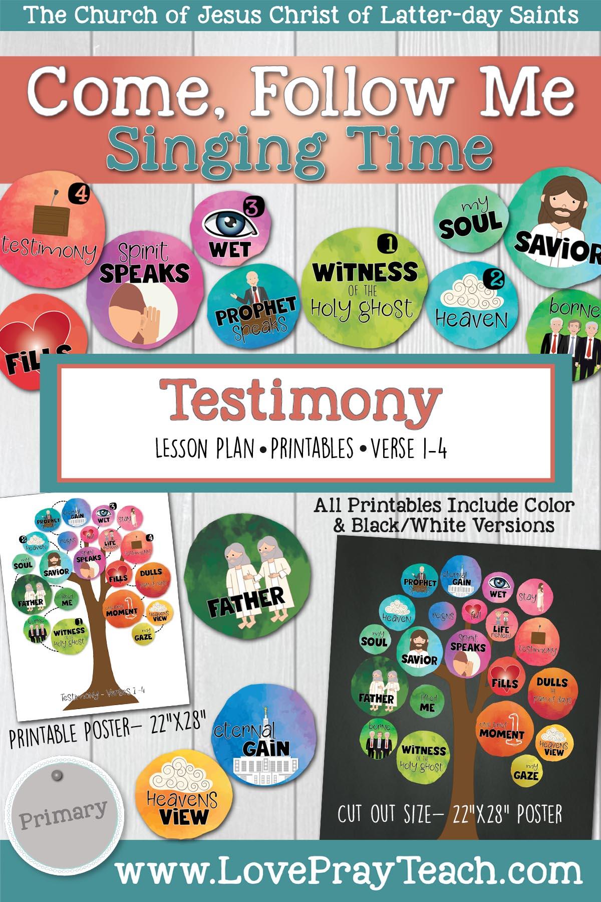 Singing Time Testimony