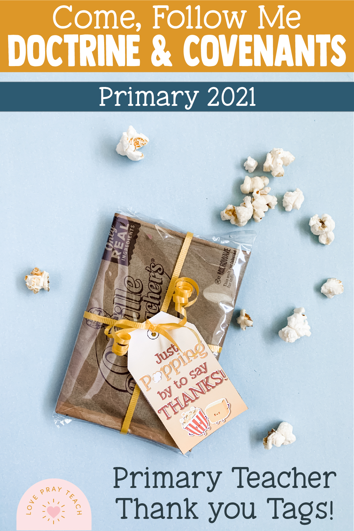 Come, Follow Me—For Primary: Doctrine and Covenants 2021 Download For Bulletin Board Extras Packet!